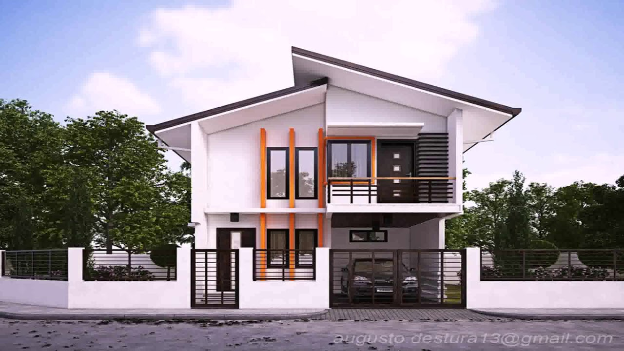 Modern Zen Houses Design In The Philippines - YouTube