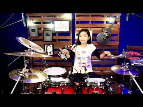 DJ Tik Tok Anjing Kacili|||drum Cover By Nur Amira