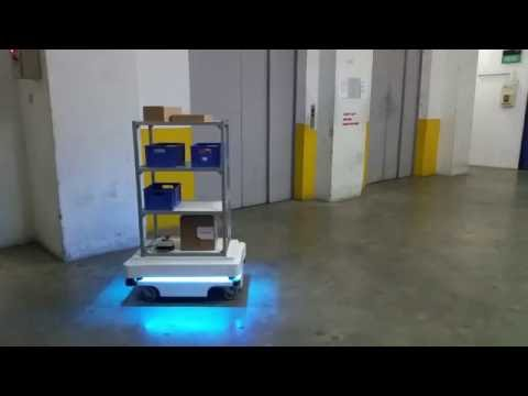 Mir mobile industrial robots agv with rack 1 youtube - Mobel industrial ...
