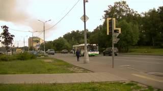 Автобус ЛИАЗ. Лукинская улица