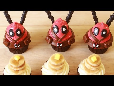 Save HOW TO MAKE DEADPOOL CUPCAKES - NERDY NUMMIES Images