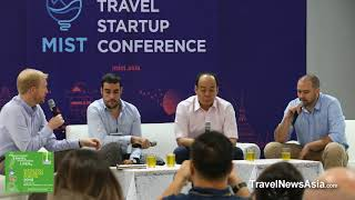 MIST (Mekong Innovative Startups in Tourism) Panel Discussion at Mekong Tourism Forum 2018