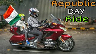 Republic Day Ride | Honda Goldwing 2018 | Republic Day 2019 | Ahmedabad Superbikes Ride | Amdavadi