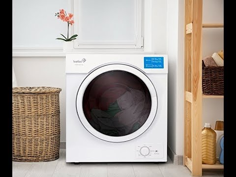 Ivation Electric Small Portable Ventless Dryer for ...