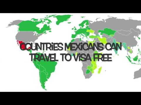 Countries Mexicans Can Enter Visa Free But Americans & Canadians Cannot