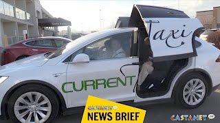 Tesla Taxi to Kelowna