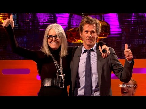 Kevin Bacon Always Wanted To Kiss Diane Keaton - The Graham Norton Show