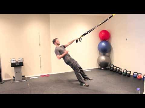 How To Do A TRX Single Arm Row