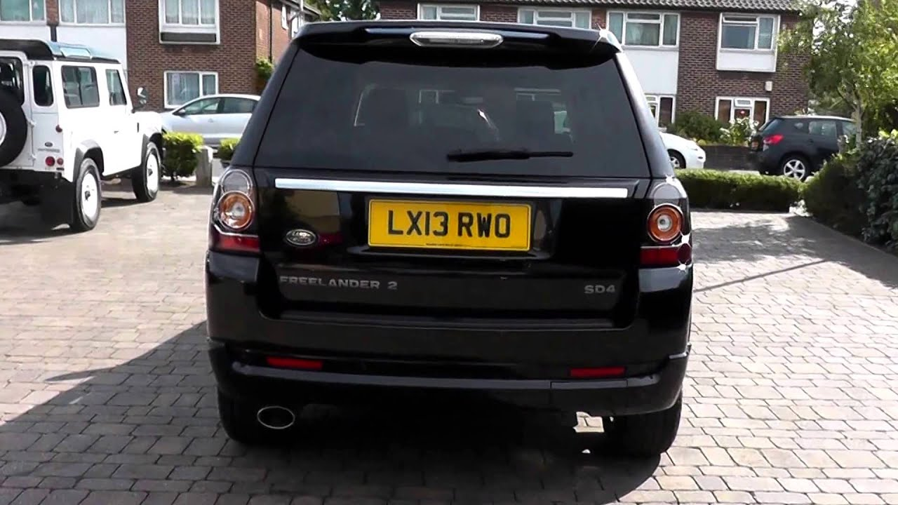 Beadles Santorini Black 2013 Land Rover Freelander 2 Dynamic 2 2l
