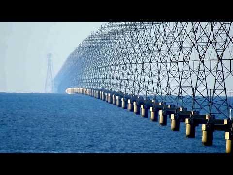 Lake Pontchartrain Transmission Lines Nikon P900 (3/3) - (Flat Earth Debunked)