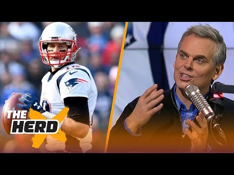 Colin Cowherd reacts to Tom Brady's sideline spat with Josh McDaniels against Buffalo | THE HERD