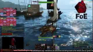 [Archeage] Great Naval Battle with 100+ players! CBE4 (FoE vs PB & RQ)