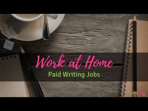 Paid Writing Jobs for Moms | Work at Home | Episode #2