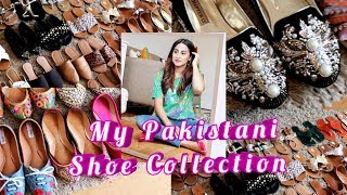 My Pakistani Shoe Collection | khussay | Pakistani chapal | Pakistani mom Vlogger | Aryamumsyblog
