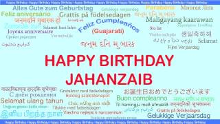 Jahanzaib   Languages Idiomas - Happy Birthday