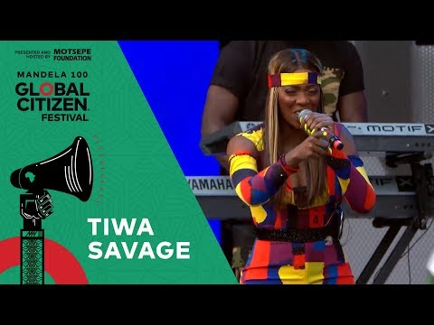 "Tiwa Savage Performs ""All Over"" 