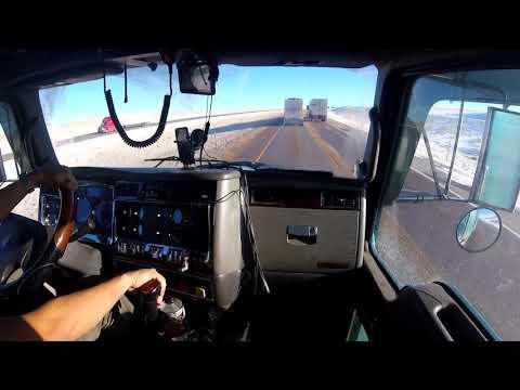 Driving. Wyoming