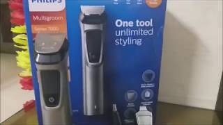 Philips MG7715/15 13-in -1 Face, Hair & Body Multi Groomer Trimmer | 7000 Series