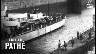 London Sees Captured U-Boat (1945)