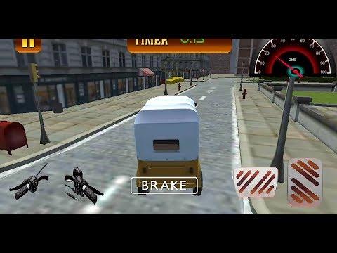 Tuk Tuk Auto Rickshaw Traffic Pick up Racing Games || Tuk Tuk Auto Rickshaw game || Rickshaw taxi