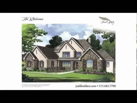 Homes For Sale Poets Walk Ivyland The Whitman Spec House Bucks County PA Video Tours