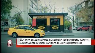 """Çankaya Belediyesi """"Yüz güldüren"""" 100 rekorunu tanıttı"""
