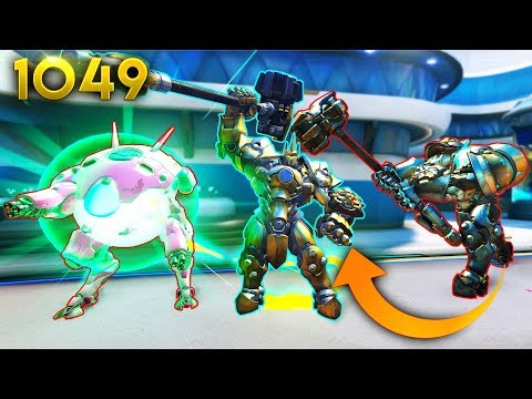 *BEST* Reinhardt PLAY YOU'LL EVER SEE!! | Overwatch Daily Moments Ep.1049 (Funny and Random Moments)