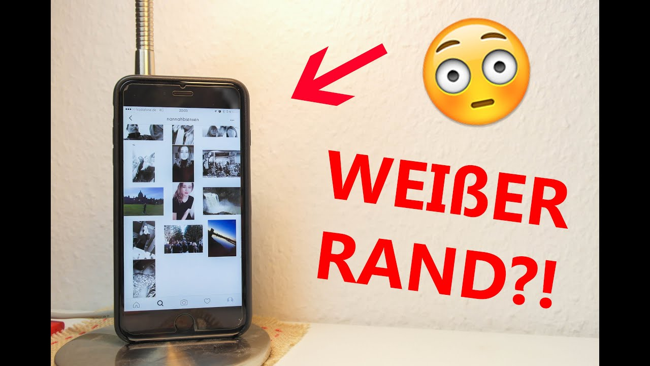 WEIßER RAND bei INSTAGRAM?! | random TECH | TechBox - YouTube