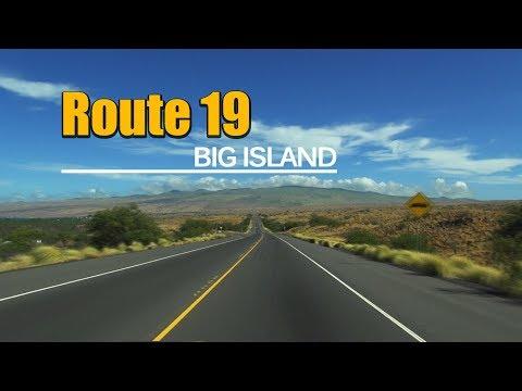 Mamalahoa Highway (Route 19) from WaiKoloa to Waimea