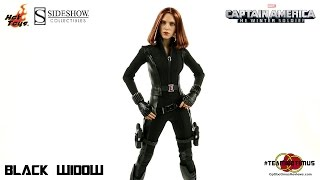 Video Review of the Hot Toys Captain America The Winter Soldier: Black Widow
