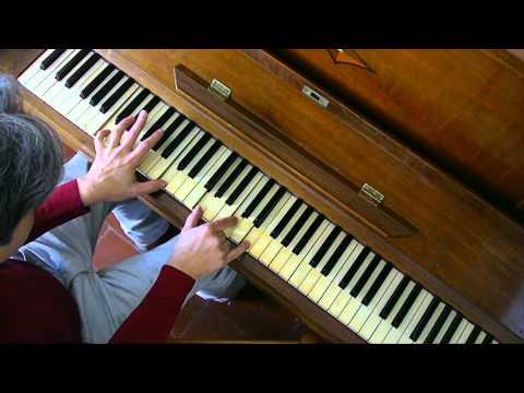Here comes the sun piano tutorial
