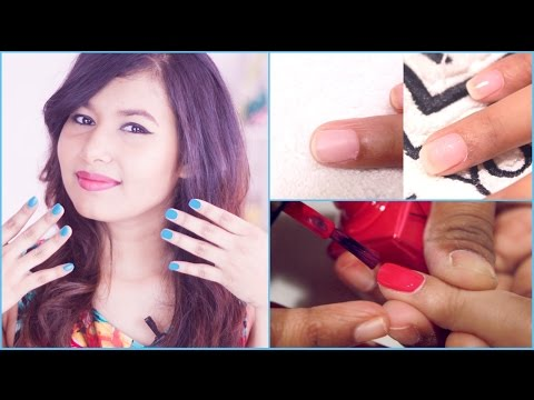 How To Get Gel Nails | In Collaboration With LYN & Juice
