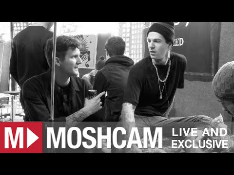 Road Test: The Neighbourhood get tattooed during our interview | Moshcam