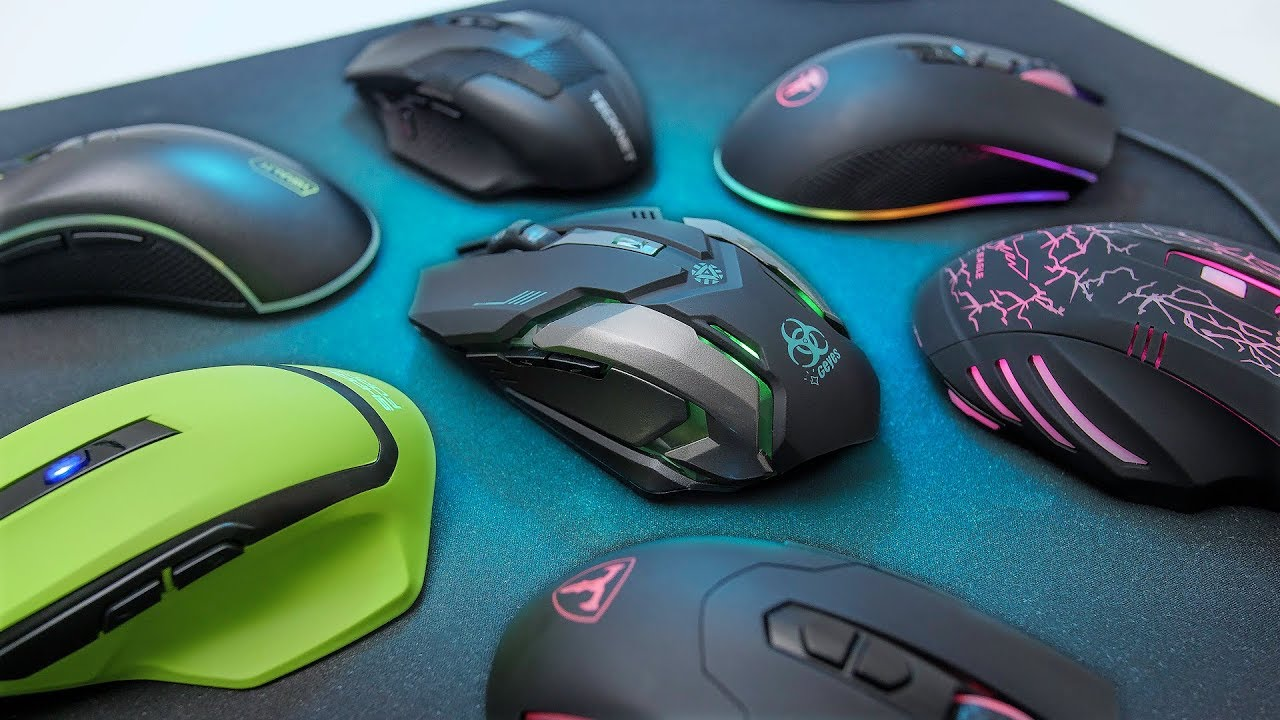testing the cheapest gaming mice we could find youtube