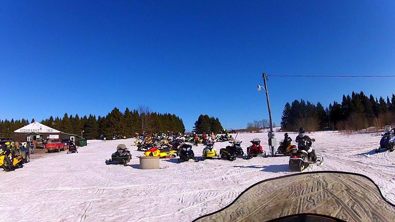 Snowmobile Tug Hill | Highmarket | 1/15/17 - YouTube