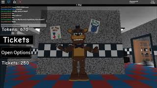 Toy freddy bailando en cinque notti ats freddy Roblox - Freddy fazblox pizza roleplau