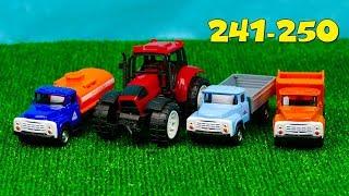 Машинки мультфильм – Мир машинок все серии подряд (241-250 серии). Мультики про машинки 47 минут