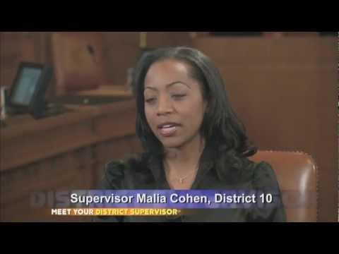 Meet Your District Supervisor: Malia Cohen - District 10