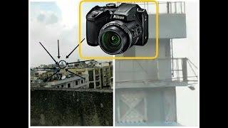 انبوكسنج و تجربة ارخص كاميرا فيها زوم خرافي /Nikon coolpix b500