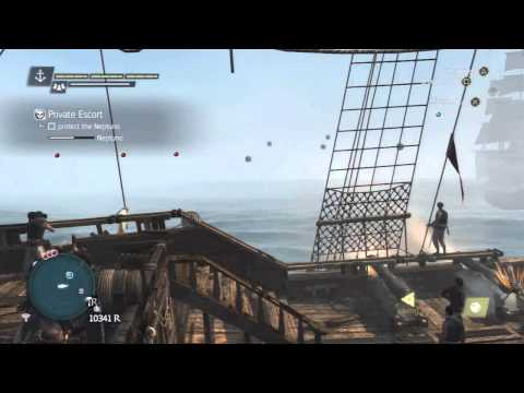 Assassin's Creed 4 - Naval Contract - Private Escort Walkthrough