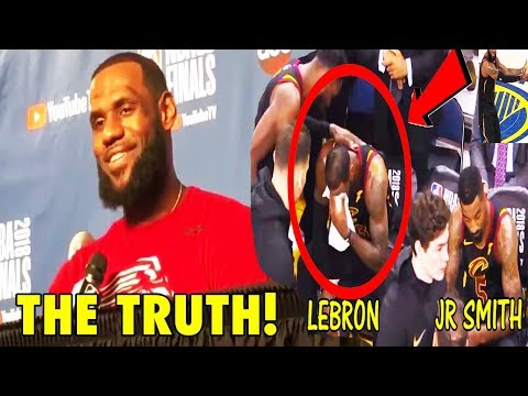 LeBron James TELLS THE TRUTH About JR Smith's Game 1 Mistake (2018 NBA Finals)