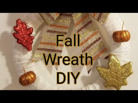 Fall Dollar Tree DIY Wreath