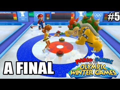 Mario & Sonic at Vancouver 2010 Winter Olympic Games - Wii - DESAFIO SEMANAL - A FINAL - parte 5
