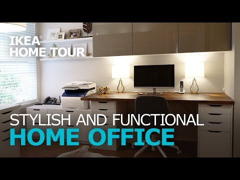 Stylish Workspace Makeover - IKEA Home Tour (Episode 312)
