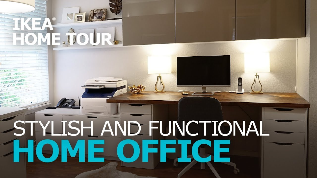 Ikea Home Filing System Stylish Workspace Makeover Ikea Home Tour Episode 312