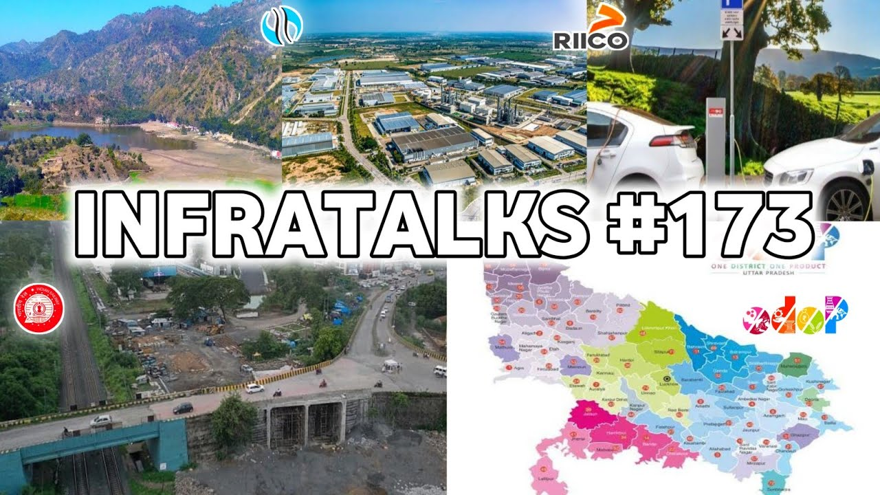 Infratalks #173 - Bridge Completed in 20 Days, One District One Product Now in Singapore, Gujarat EV