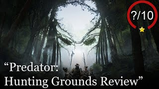 Predator: Hunting Grounds Review [PS4 & PC] (Video Game Video Review)
