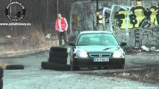 1 eliminacja Pucharu WRT Rally Oes - MOTUL Kraków - Michał Anaszkiewicz - Honda Civic