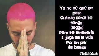 J Balvin - Rosa (audio oficial y letra) lyrics