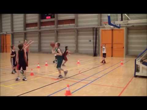 Fabulous Gymles: Basketbal 16: Spelvormen voor dribbelen en schieten - YouTube #VN67